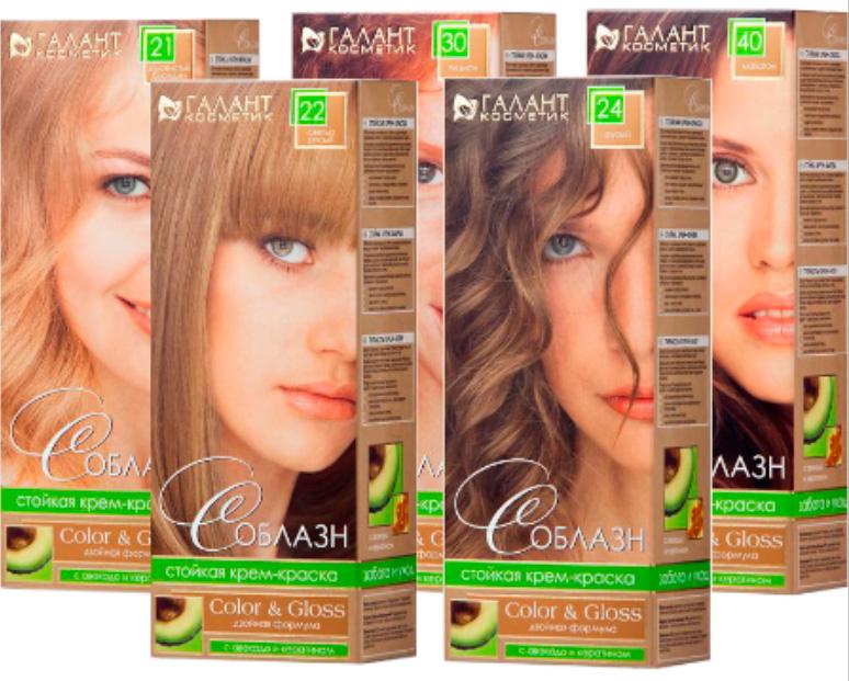 Галант краска для волос
